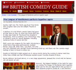 British Comedy Guide Review