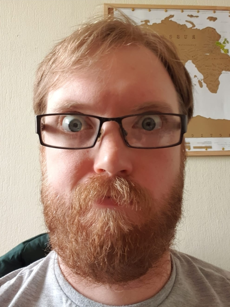 Craig with beard